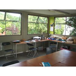 The Classroom at The Butterfly Garden. A project for people of all ages dealing with disablement of any kind.